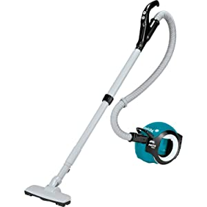 Makita DCL501Z 18V LXT Lithium-Ion Brushless Cordless Cyclonic Canister HEPA Filter Vacuum, Tool Only