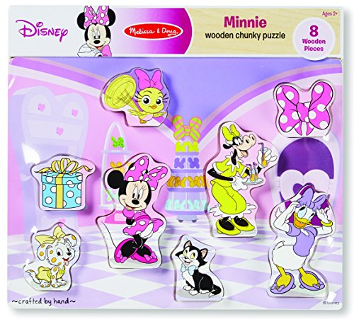 Minnie Mouse and Friends Wooden Chunky Puzzle (8 pcs)