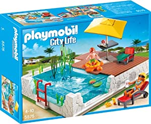 PLAYMOBIL 5575 - City Life: Einbau-Swimmingpool