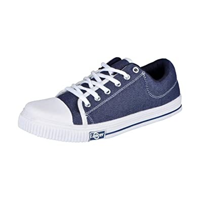 9cb07ef38b Lancer Yuva 111 33 Navy Blue Men Canvas Sneakers 11 UK: Buy Online ...