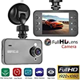 Gfone Cámara de Coche Dash CAM 1080P Full HD Cámara para Coche Grabación en Bucle HDR