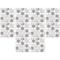 IMIKEYA Schil en Plak Tegel Stickers 3D Muur Backsplash Stickers Vloer Decals Zelfklevende Vinyl Sticker Voor Keukens…