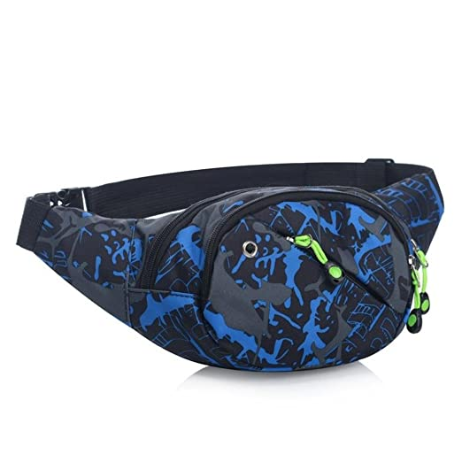 f9de60f60dff Leegor Camouflage Waterproof Waist Pack Cycling Sport Multi-pocket Storage  Bag