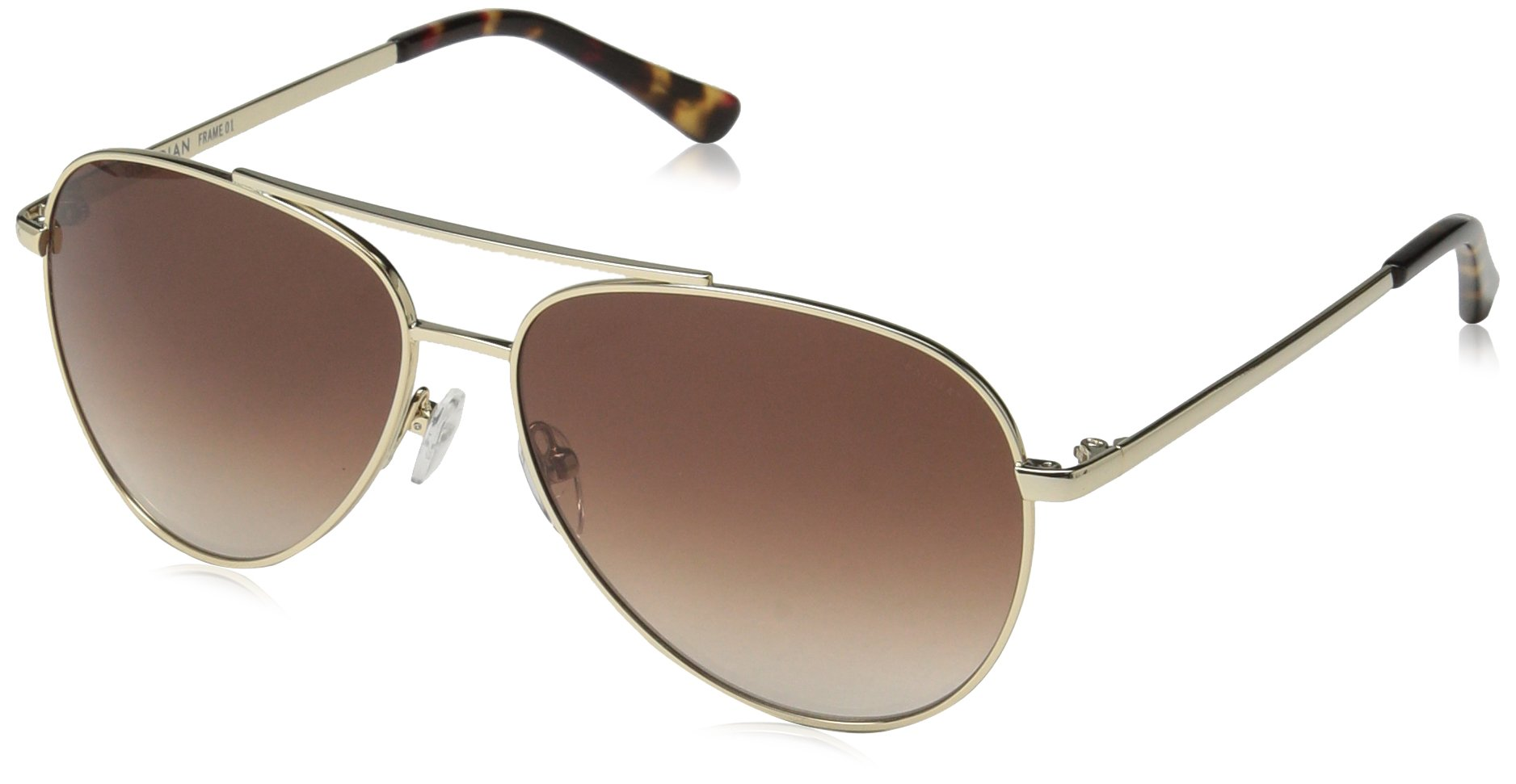 Obsidian Sunglasses for Women or Men Aviator Frame 01, Gold, 58 mm by Obsidian Sunglasses