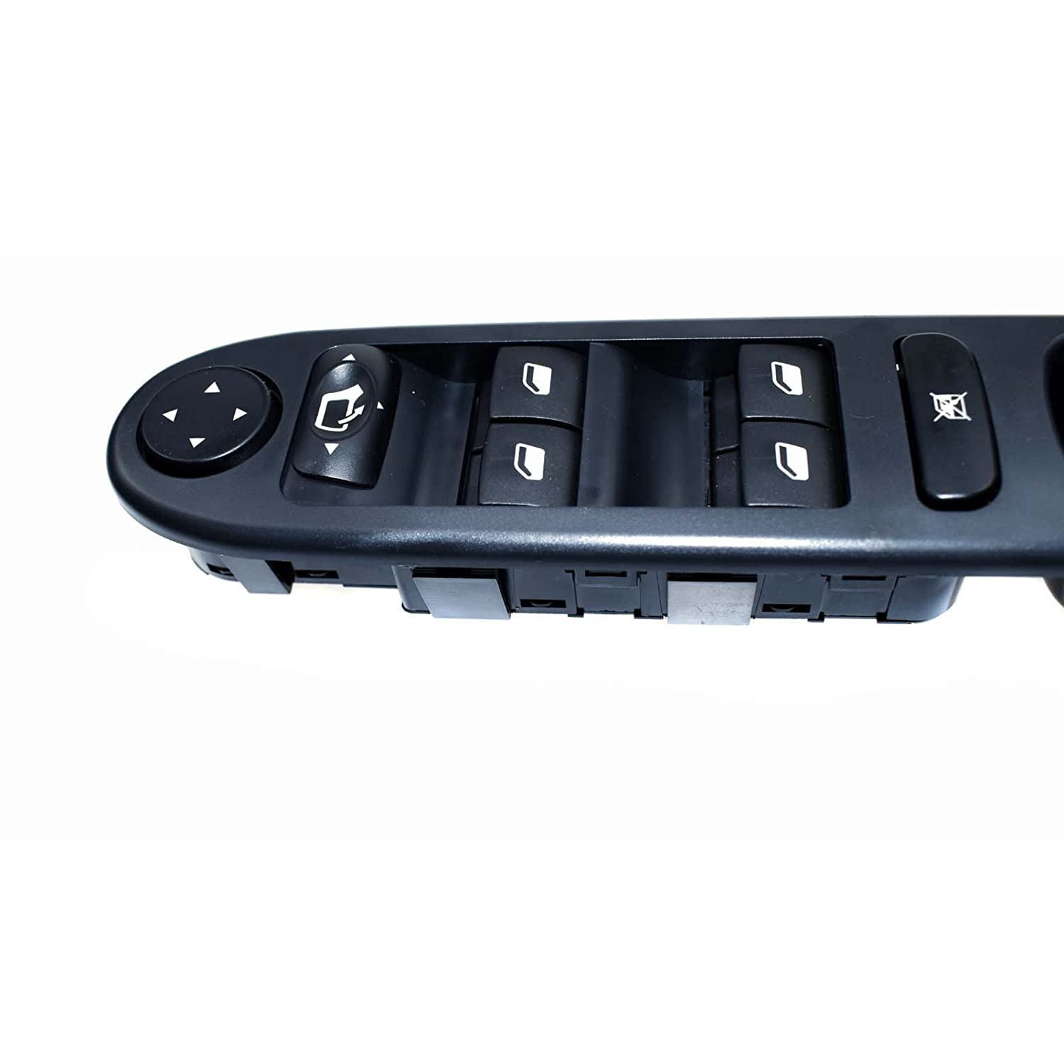 eGang Auto Front Driver Side Master Power Window Switch Control 6554.KT 6554KT For Peugeots 307 SW CC 307SW 307CC 2000 2001 2002 2003 2004 2005 2006 2007 2008 2009 2010 2011 2012 2013 2014 New