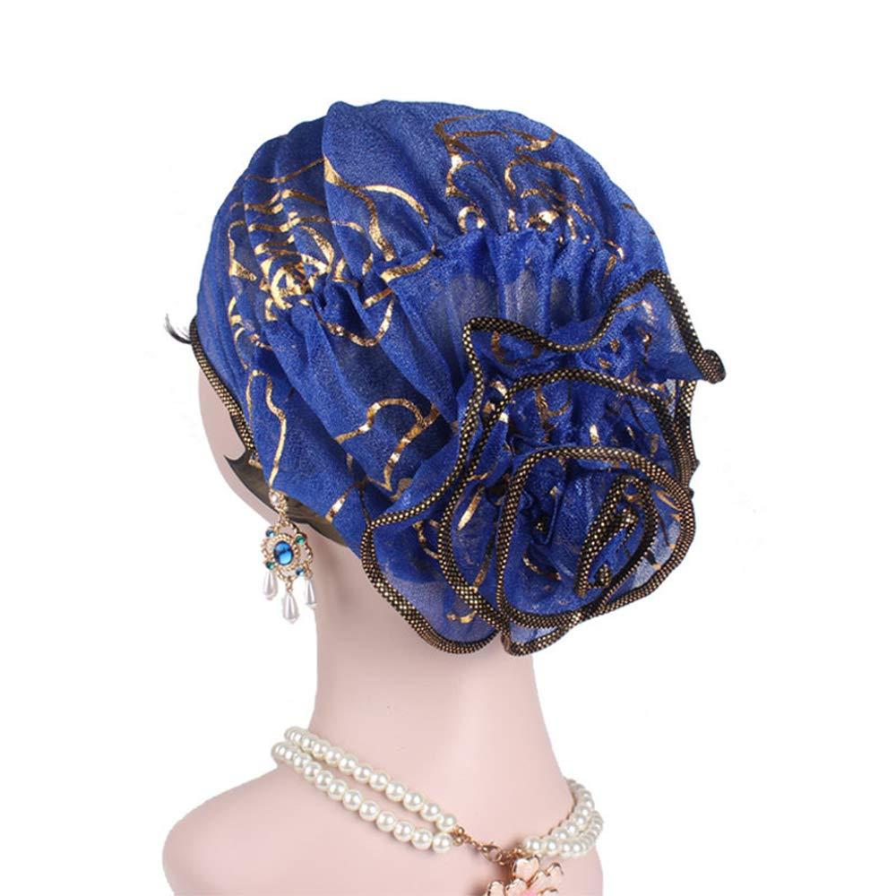 Ymysfit Femme Chapeau Coiffure Style Mouslin Turc Couleur Unie Fleur en  Dylon Élégant Mode  Ymysfit  Amazon.fr  Vêtements et accessoires a56ed777690
