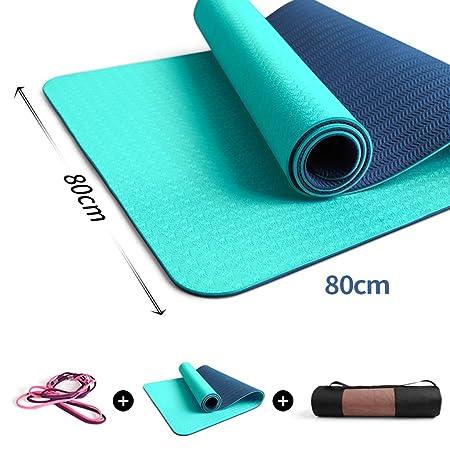 Alloeliey - Esterilla de Yoga para Yoga (Antideslizante ...