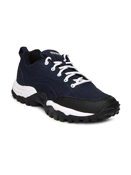 008a996c5ef2 Reebok Men s Reverse Smash Lp NVY Wht Blk Running Shoes - 8 UK India ...