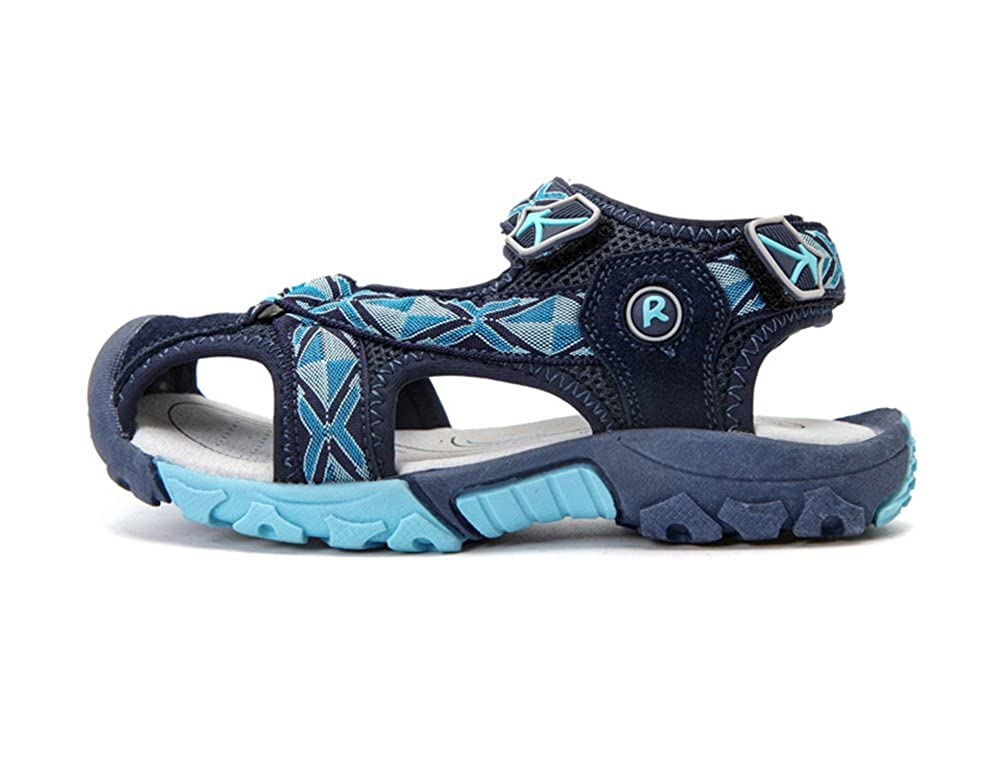 Tuoup Athletic Leather Walking Beach Sandles Boys Kids Sandals