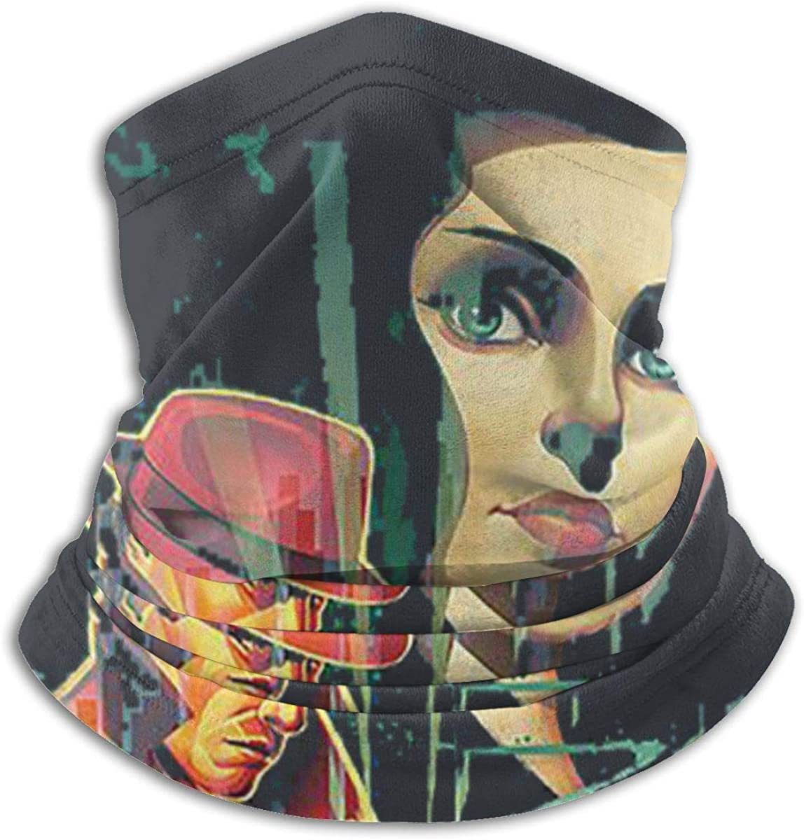 BioShock Unisex Comfortable And Breathable Fashion Scarf Face Tube Neck Scarf Neck Warm Scarf