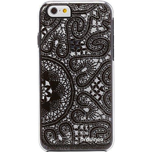 """Prodigee iPHONE 6 6s 4.7"""" Show-Lace, Black Clear klar Transparent Schwarz Schutz dünn Hülle Stück dünner dünn Schalen Case Cover"""