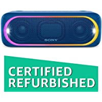 (Certified REFURBISHED) Sony SRS-XB30/LC-IN5 Portable Bluetooth Speakers (Blue)