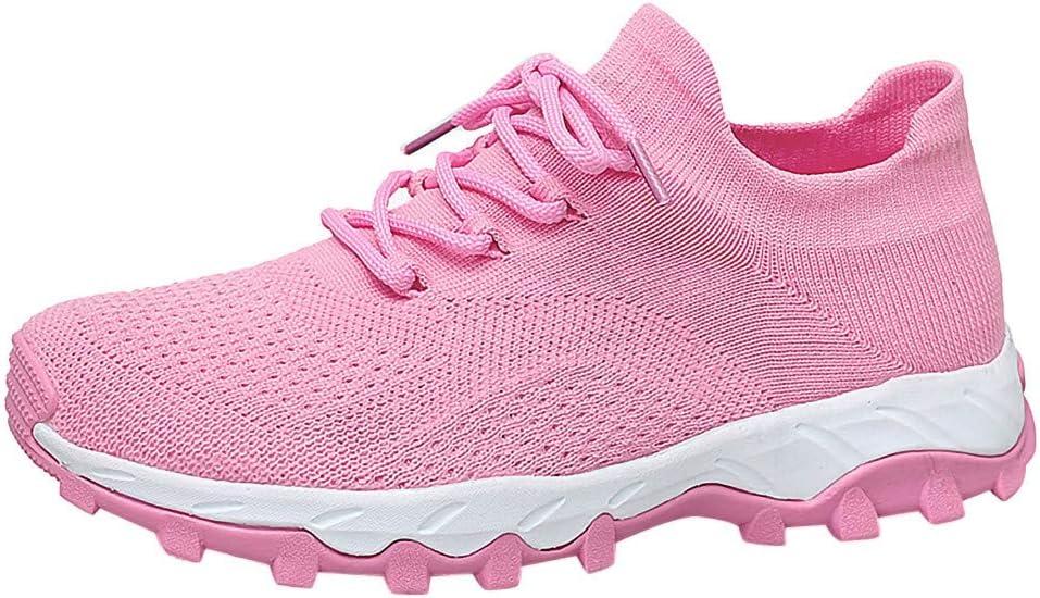 ZODOF zapatillas deportivas mujer Al aire libre Malla Casual Deporte Corriendo Respirable Alpinismo Zapatillas trekking running shoes sneakers(39.5 EU,Rosado): Amazon.es: Bricolaje y herramientas
