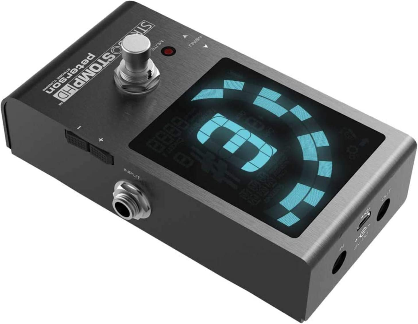 Peterson StroboStomp HD Guitar Tuner