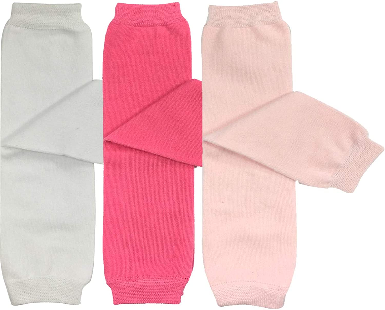 ALLYDREW 4 Pack Solid Baby Leg Warmer Set /& Toddler Solid Leg Warmer Set for Boys /& Girls