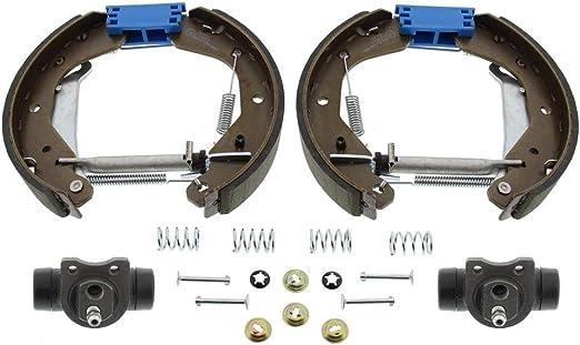 Mapco 9830 Bremsbackensatz Trommelbremse Hinten Vormontiert Opel Corsa B C Astra F Ohne Abs Auto