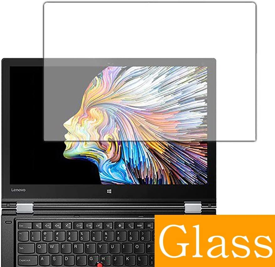 "Synvy Tempered Glass Screen Protector for Lenovo ThinkPad P40 Yoga 14"" Visible Area Protective Screen Film Protectors 9H Anti-Scratch Bubble Free"