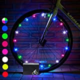 DIMY Bike Wheel Lights, LED Bike Wheel Light for Boys Toys for 5-16 Year Old Boys 5-14 Year Old Boy Gifts for Teen Girl Outdoor Toys Multicolor TTB07
