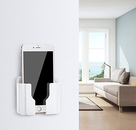 Mobile phone charging bracket wall-mounted remote control storage box 1 PC