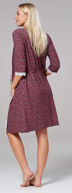 591p Para Mujer Camis/ón//Bata//Pijama premam/á Venden por Separado HAPPY MAMA