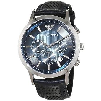 new products f6e65 d0126 エンポリオアルマーニ腕時計 Emporio Armani メンズ AR2473 ブラック Renato [並行輸入品]