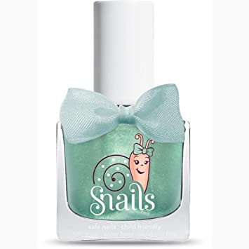 Snails Kinder Nagellack BeBe Magic Crystal (mint mit Glitzer)