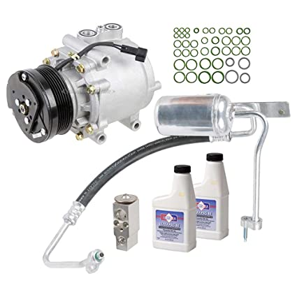 New Ac Compressor Clutch With Complete A C Repair Kit For Ford Expedition