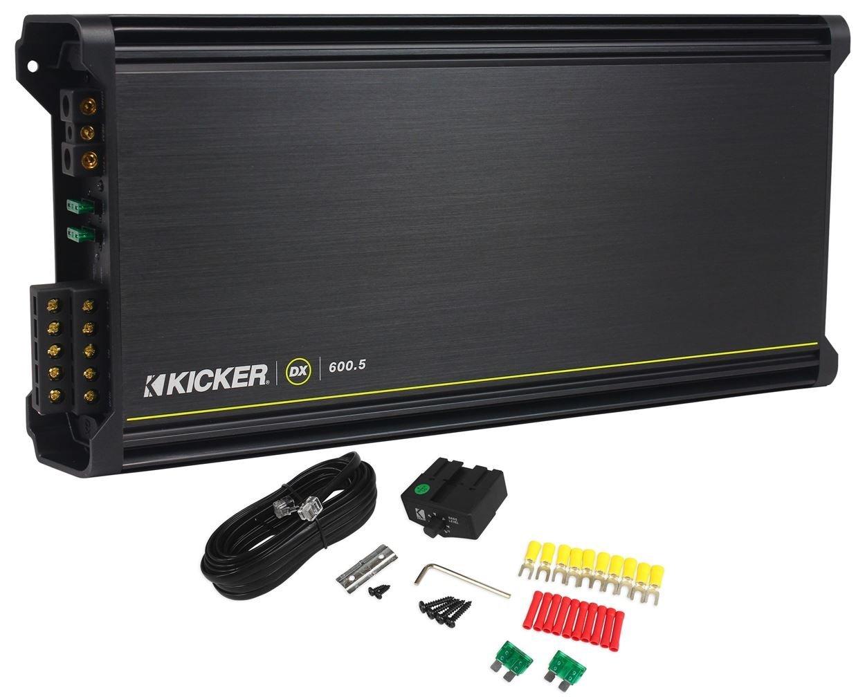 Amazon kicker 11dx6005 600w 5 channel car amplifier power amazon kicker 11dx6005 600w 5 channel car amplifier power stereo ampremote 11dx6005 car electronics sciox Gallery