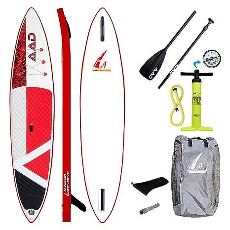 AAD Marlin - Juego de Tabla de Paddle Surf Hinchable (15 cm ...