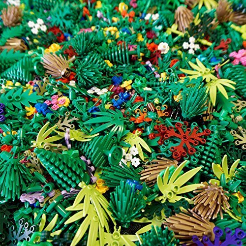 [(X25) Lego Greenery Plant Pieces] (Flower Zombie Costumes For Girls)