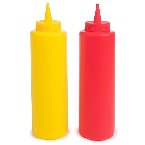 Amazon.com: Ketchup y botella de mostaza paquete combo ...