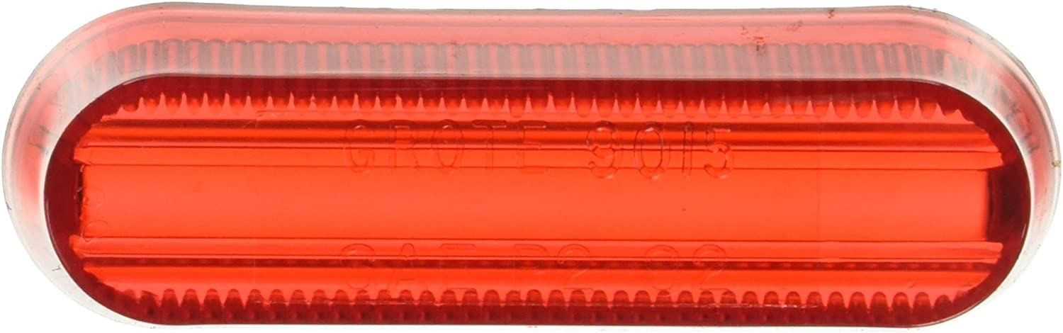 Retail Pack Grote 90152-5 Red Clearance Marker Replacement Lenses