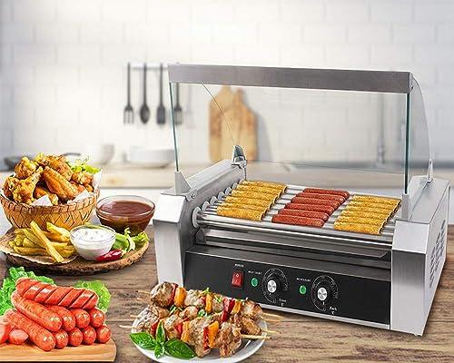 Safstar Commercial Hotdogs Grilling Cooker
