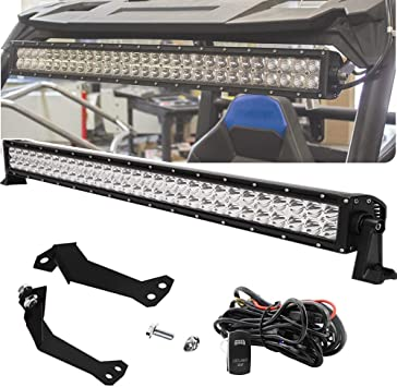 "30/""-32/"" LED Light Bar Roof New Mount Bracket For Polaris RZR XP1K 4 RZR 900 1000"