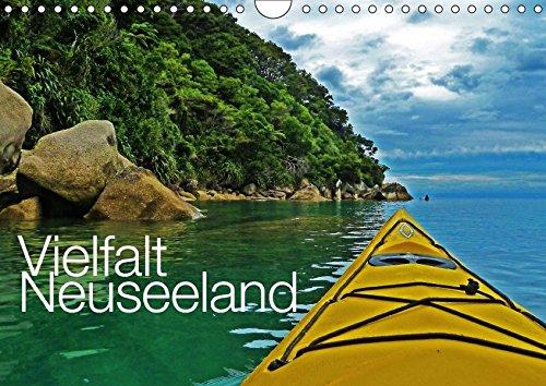 Vielfalt Neuseeland / CH-Version (Wandkalender 2018 DIN A4 quer): Reichtümer der Natur Aotearoas - dem Land der langen weißen Wolke (Monatskalender, 14 Seiten ) (CALVENDO Orte)