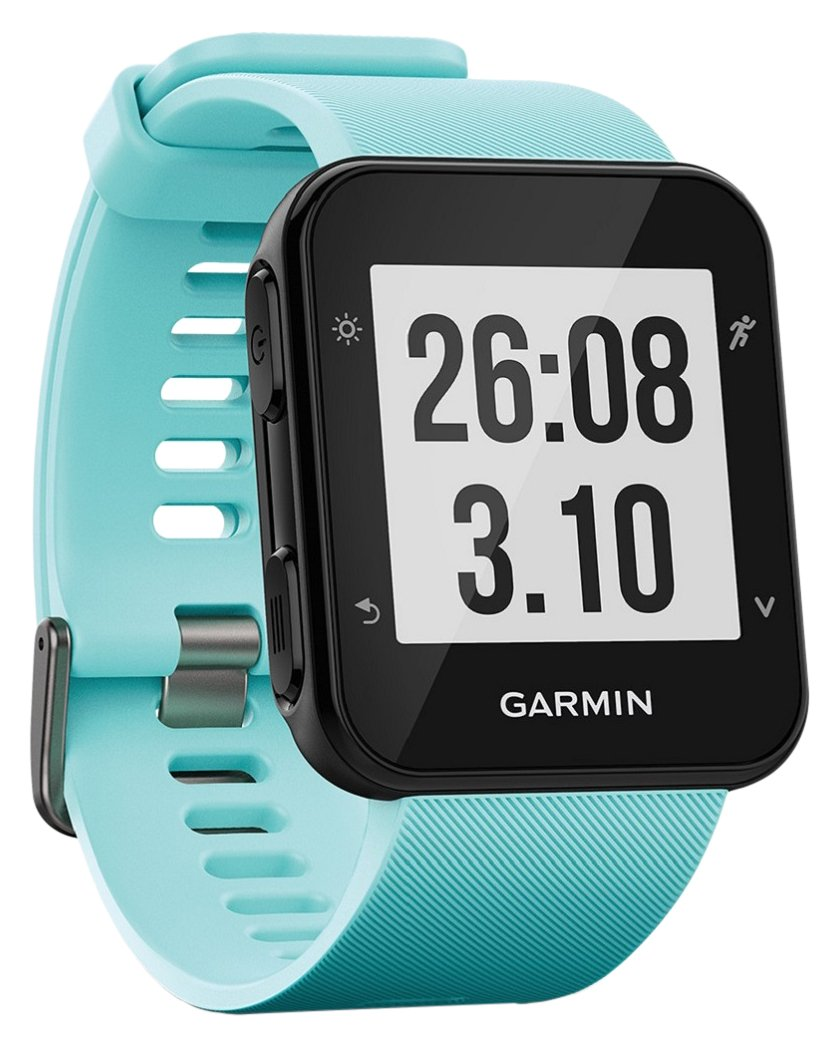 Garmin Forerunner 35 Watch, Frost Blue - International Version - US warranty by Garmin (Image #1)