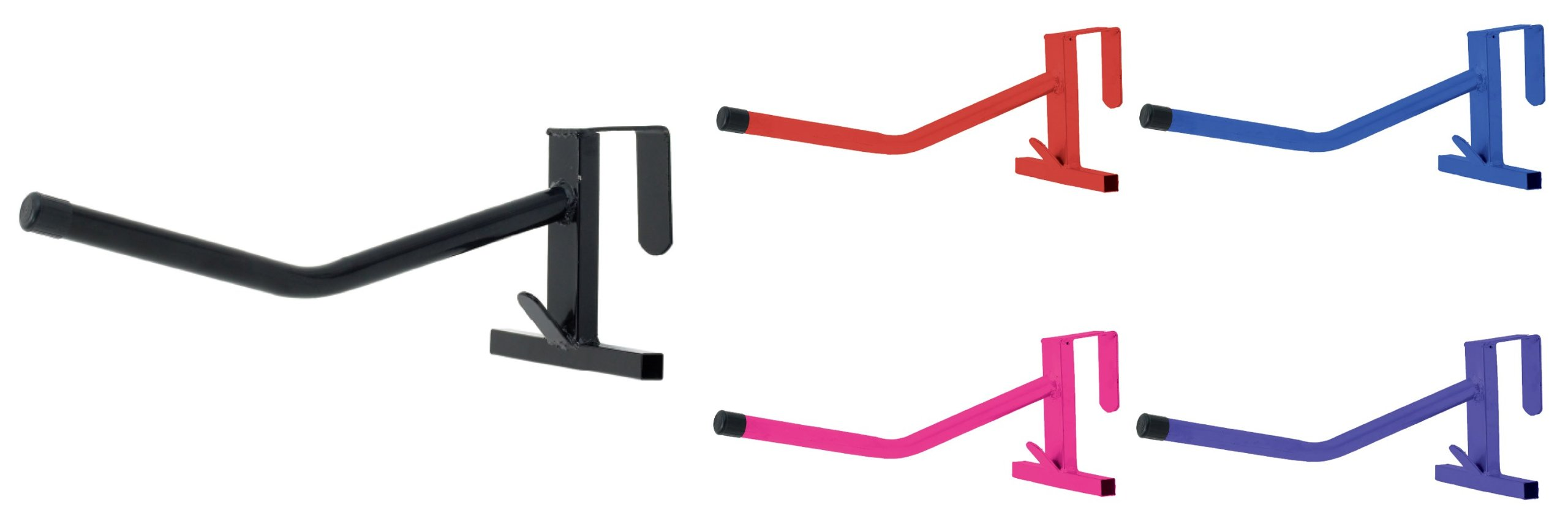 Portable Single Arm Saddle Rack - One Size - Black