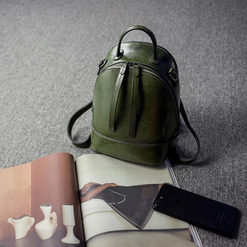 Circlefly Leder Leder Leder Frau Tasche koreanischen Mode Damen Umhängetasche Öl Wachs Kuh Ledertasche B07HWTKX8R Henkeltaschen Großer Räumungsverkauf bc3d87