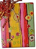 30'' X 100' Flor De Agosto Gift Wrap
