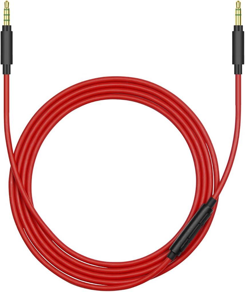 XB750BT 100ABN XB650BT Geekria QuickFit Plus 100AAP XB950BT Cable de Audio para Sony MDR-1000X MDR-1A y m/ás//Auriculares,