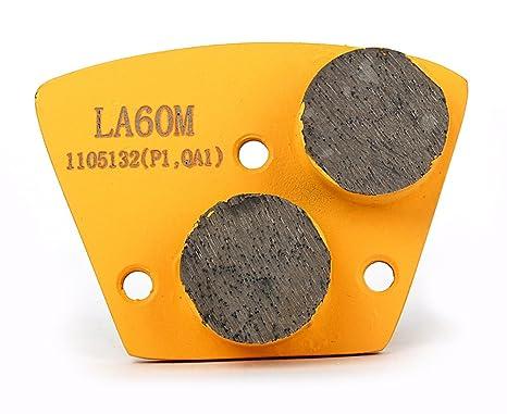 Metal Diamond Floor Grinding Pads 60 Girt For Concrete