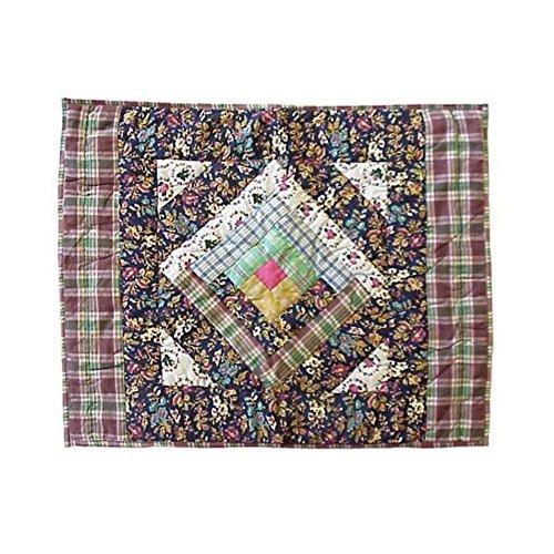 Patch Magic Garden Path Pillow Sham, 27-Inch by 21-Inch ()