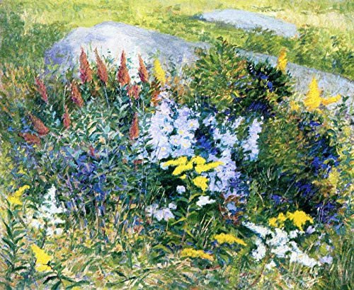 John Leslie Breck Rock Garden at Giverny 1887 Private Collection 30