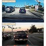 Amebay Dash Cam 2.4 FHD 1080P Car Vehicle Dashboard DVR Camera Video Recorder with 16GB Micro SD Card,Black