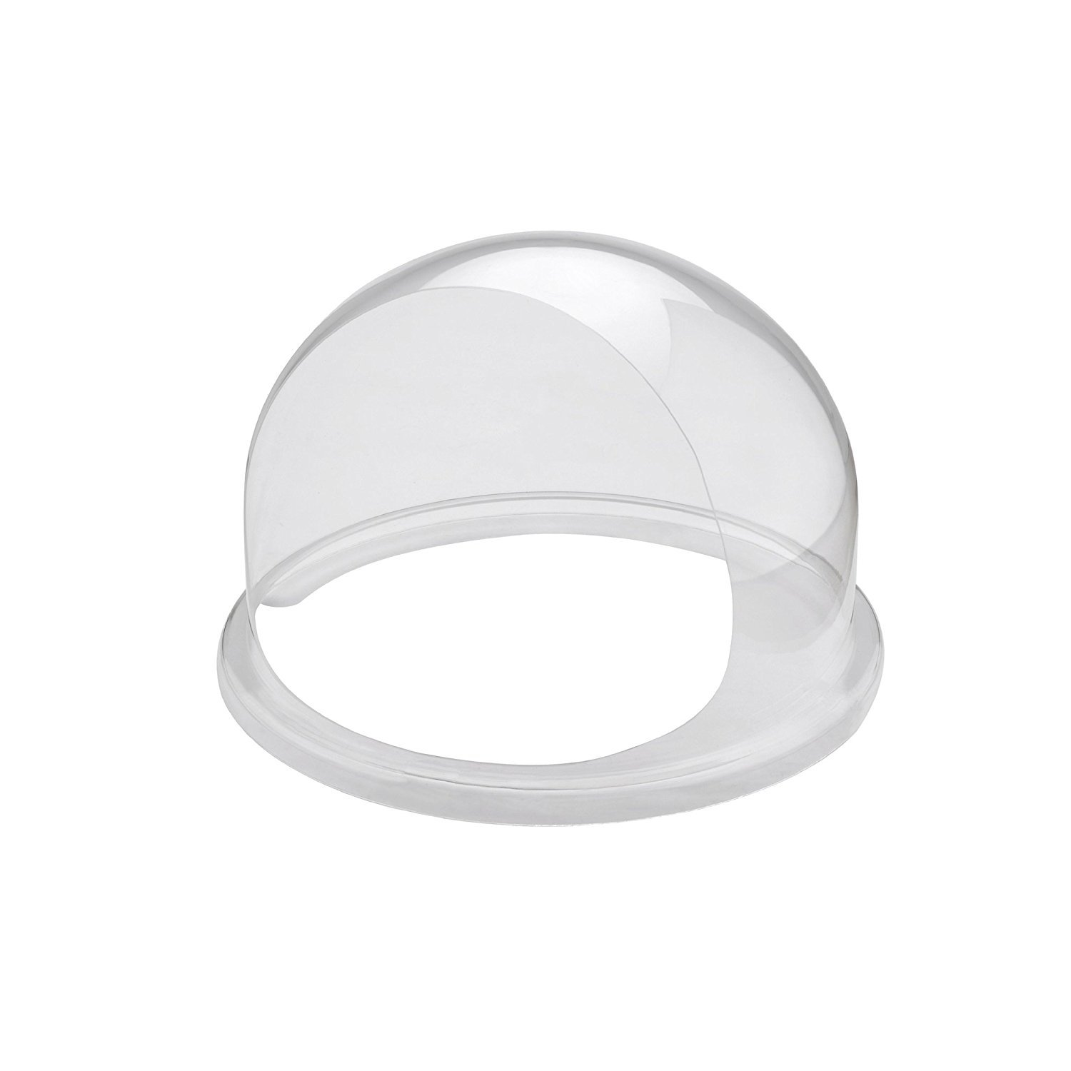 Clevr 20.5'' Commercial Cotton Candy Machine Cover Bubble Shield, White