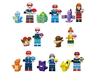 Go Set 1Amazon Minifigures Poket Monster Y Juegos Pokemon esJuguetes OPulwXTkZi