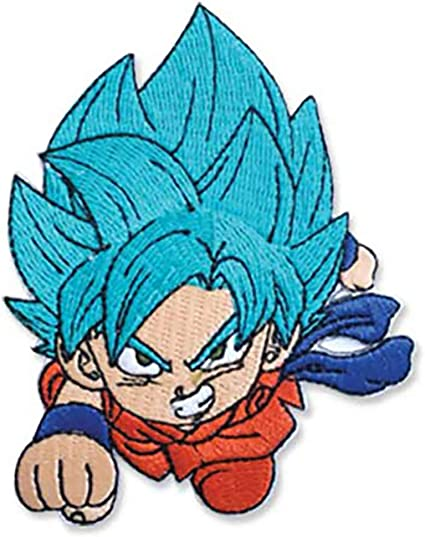 """DRAGONBALL Z Embroidered  Iron-On Patch 3.5/"""" x 2.5/"""" Anime"""