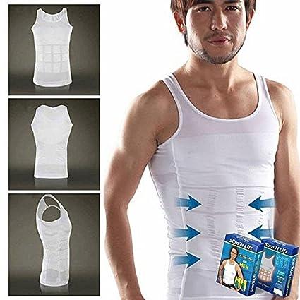 d975b5b64 Buy OnlineWorld Slim N Lift Body Shaper for Men (White) Online at ...