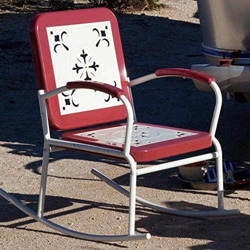 Coral Coast Paradise Cove Retro Metal Rocker