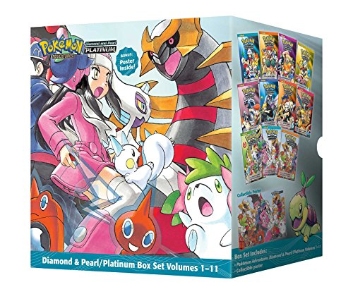Pokémon Adventures Diamond & Pearl / Platinum Box Set (Pokemon)